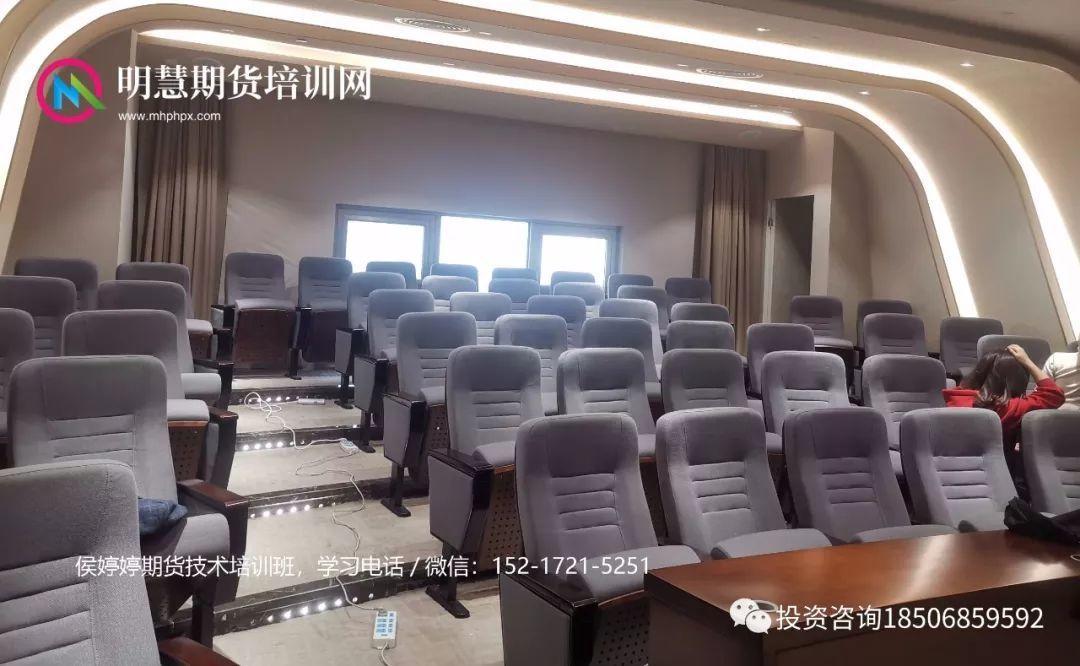 侯婷婷期货读K技术训练营培训现场报导!